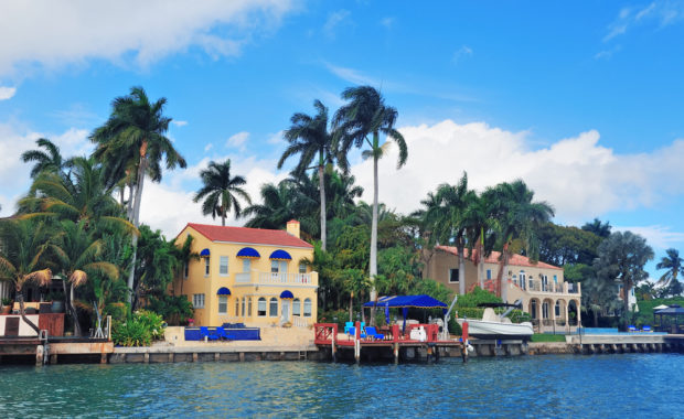 miami florida home on the water